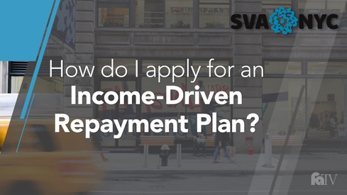 How do I apply for an Income-Driven Repayment Plan?