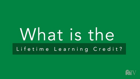 What is the Lifetime Learning Credit?