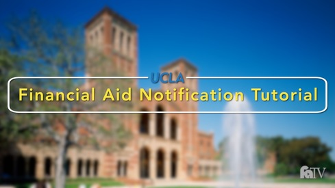 Financial Aid Notification Tutorial