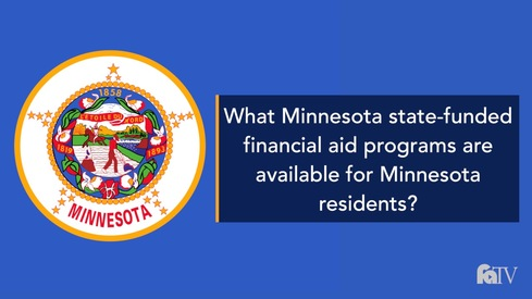 What Minnesota state-funded financial aid programs are available for Minnesota residents?