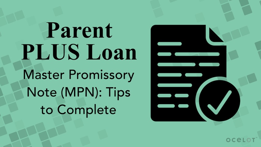 Trending Video Parent PLUS Loan Master Promissory Note (MPN): Tips to Complete