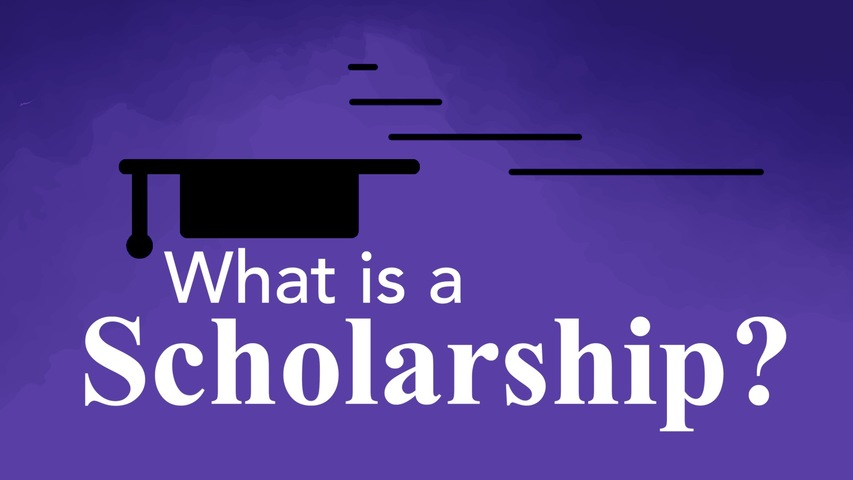 Trending Video What is a scholarship?