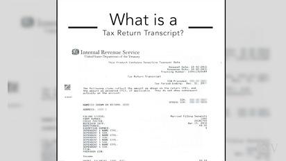 What is a tax return transcript? | Verification | UC Merced