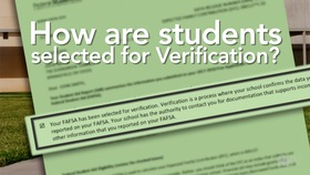 Verification Information Financial Aid Scholarships