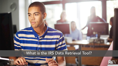 What is the IRS Data Retrieval Tool?