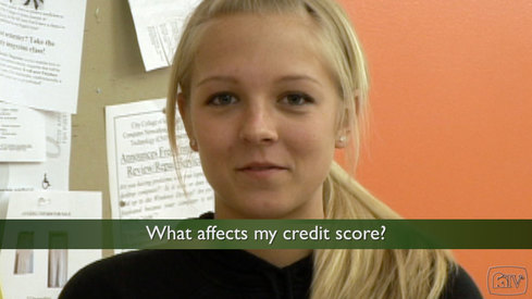 What affects my credit score?