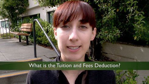 What is the Tuition and Fees Deduction?
