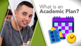 Thumbnail of What is an Academic Plan?