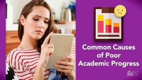 Thumbnail of Common Causes of Poor Academic Progress