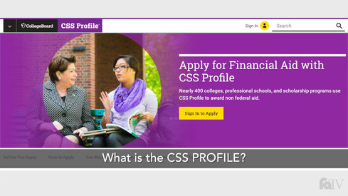 What is the CSS Profile?
