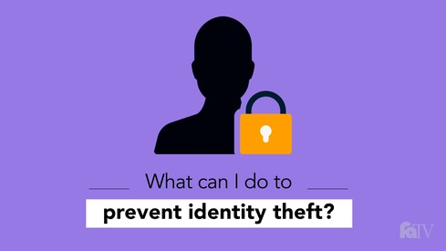 What can I do to prevent identity theft?