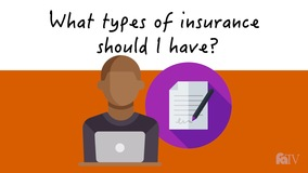 Thumbnail of What types of insurance should I have?