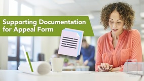 Thumbnail of Supporting Documentation for Appeal Form