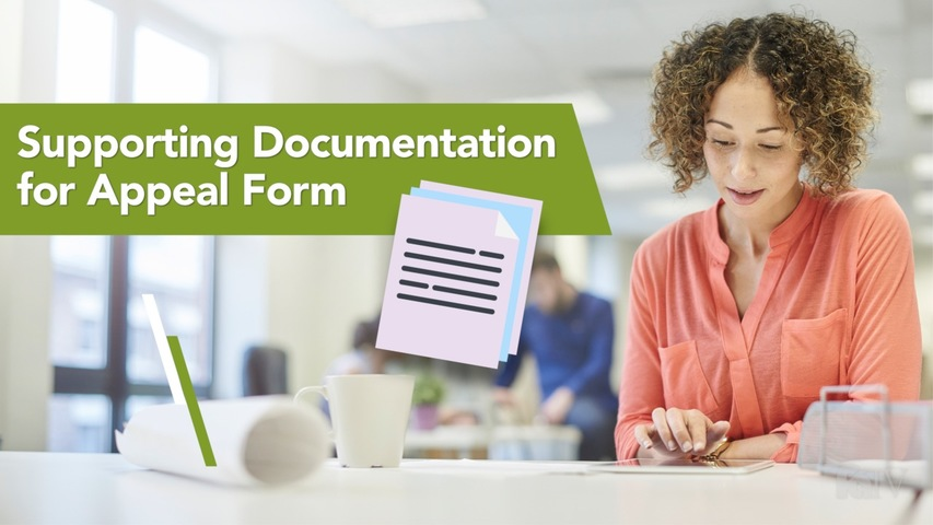 Trending Video Supporting Documentation for Appeal Form