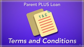 Thumbnail of Parent PLUS Loan Terms and Conditions