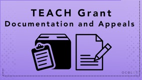 Thumbnail of TEACH Grant - Documentation, and Appeals