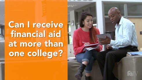 Can I receive financial aid at more than one college?
