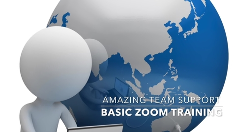 Thumbnail for entry Zoom Webinar A-Z training