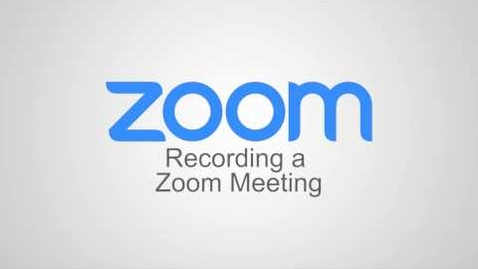 Thumbnail for entry Recording a Meeting