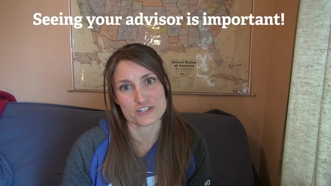 Thumbnail for entry Episode 4: Why your Advisor is your new favorite person!