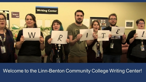 Thumbnail for entry Online Writing Center Tour