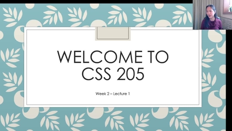 Thumbnail for entry CSS205_Wk2_Lect1.mp4