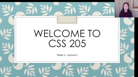 Thumbnail for entry CSS05_Wk2_Lect3.mp4