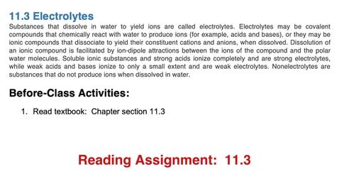 Thumbnail for entry 11.3: Electrolytes