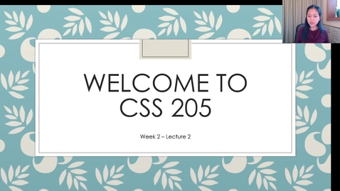 Thumbnail for entry CSS205_Wk2_Lect2.mp4