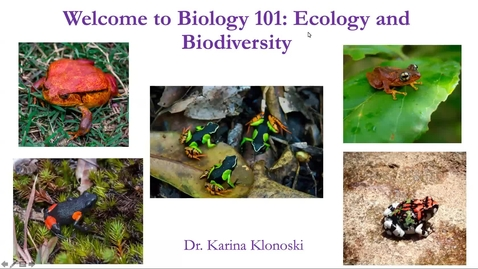 Thumbnail for entry Lecture 1.1: Introduction to Biology