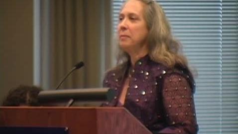 Thumbnail for entry TLN 2012 Moore Lecture - Susan Klappa - CC
