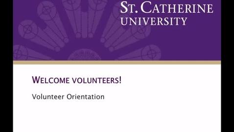 Thumbnail for entry Volunteer_Orientation - CC