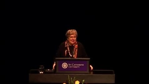 Thumbnail for entry Elizabeth Johnson CSJ - Myser Lecture 2015 - CC