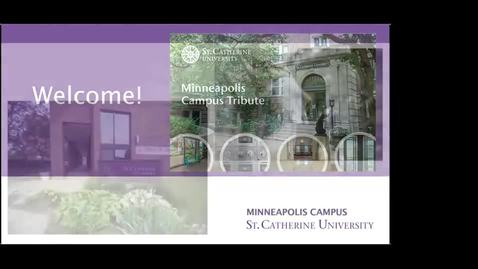 Thumbnail for entry Minneapolis Campus Tribute 10-21-2020 - CC