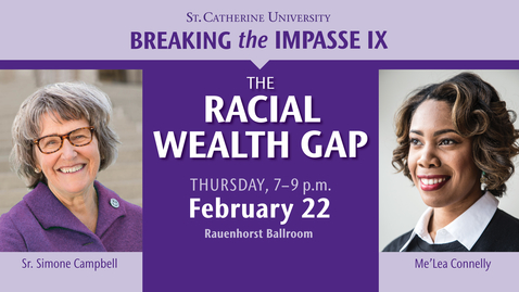 Thumbnail for entry Breaking the Impasse IX  - The Racial Wealth Gap - CC