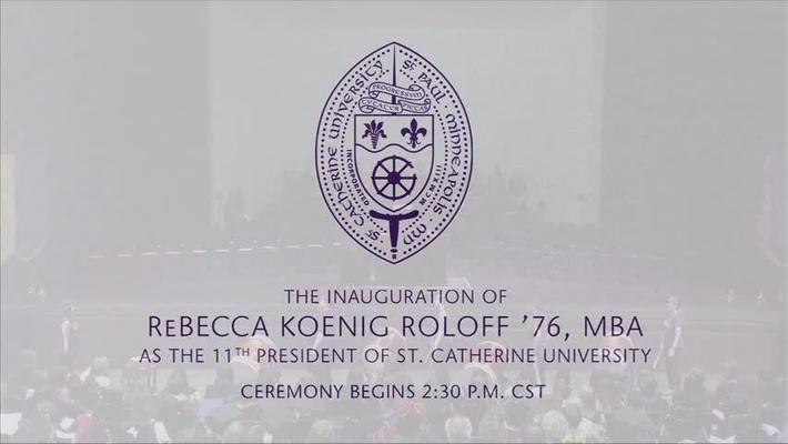 President Roloff Inauguration