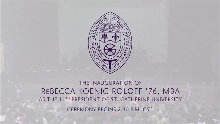 President Roloff Inauguration - Int