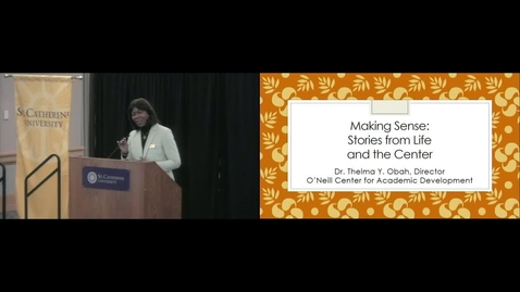 Thumbnail for entry TLN 2019 Moore Lecture - Thelma Obah - CC