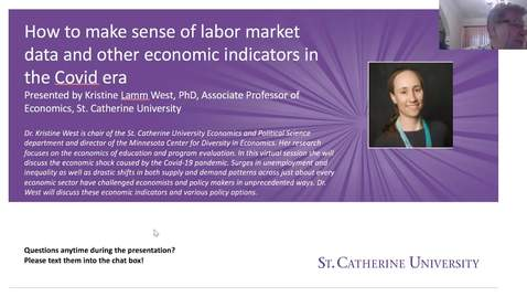 Thumbnail for entry How to make sense of labor market data and other economic indicators in the Covid era - CC
