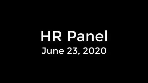 Thumbnail for entry HR Panel - June 23 - CC