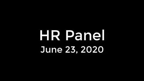 Thumbnail for entry HR Panel - June 23 - CC