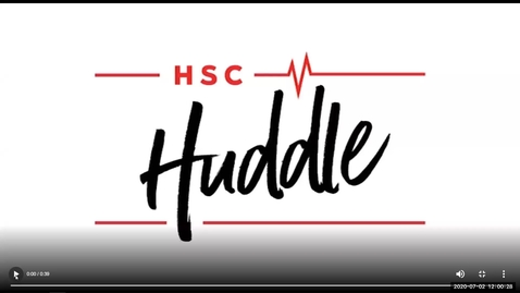 Thumbnail for entry HSC Huddle July 2020