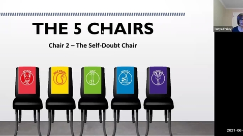Thumbnail for entry 2021 June 10  The 5 Chairs - Chair 2 The Self-Doubt Chair (the Hedgehog)