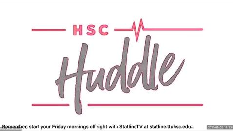 Thumbnail for entry HSC Huddle September 2021