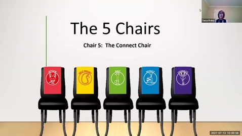 Thumbnail for entry 2012 July 13  The 5 Chairs - Chair 5: The Connect Chair (the Giraffe Chair)