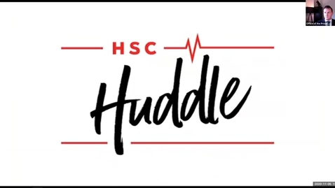 Thumbnail for entry HSC Huddle November 2020