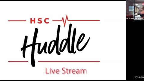 Thumbnail for entry HSC Huddle: Special Edition Abilene | September 1, 2020
