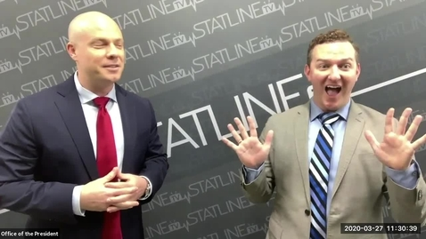 Thumbnail for entry StatlineTV Hosts a Town Hall   March  27, 2020