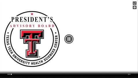 Thumbnail for entry President's Advisory Board Meeting July 2021