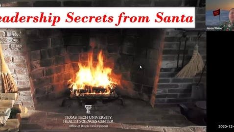 Thumbnail for entry 2020 12 15 Leadership Secrets from Santa